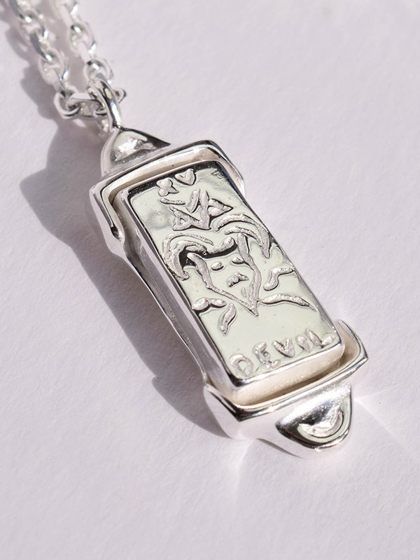 Tarot card The Devil necklace