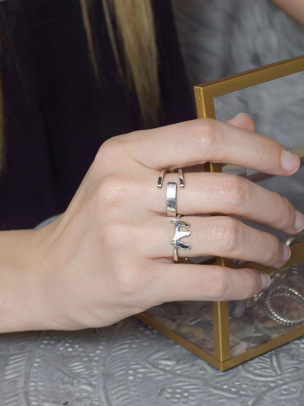 Δαχτυλίδι με πουλάκια