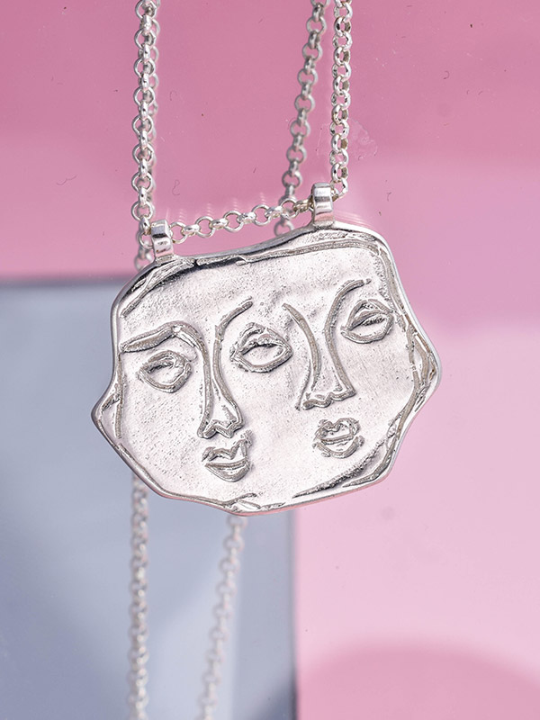 Twins necklace
