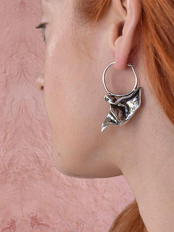 Fold earrings