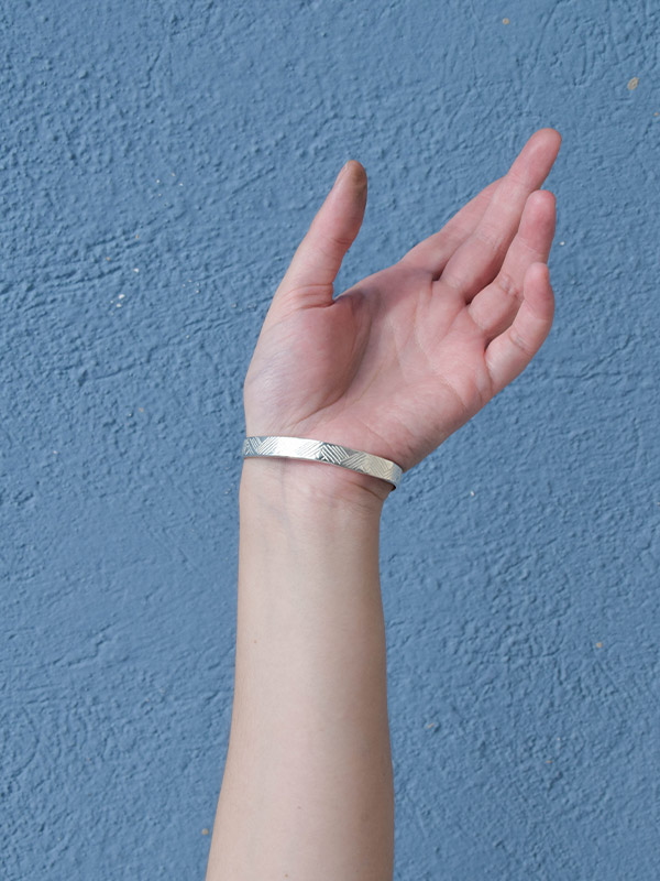 Ασημένιο χειροποίητο βραχιόλι