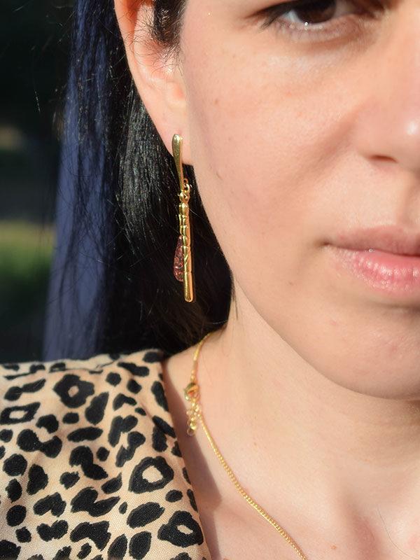 Jades earrings