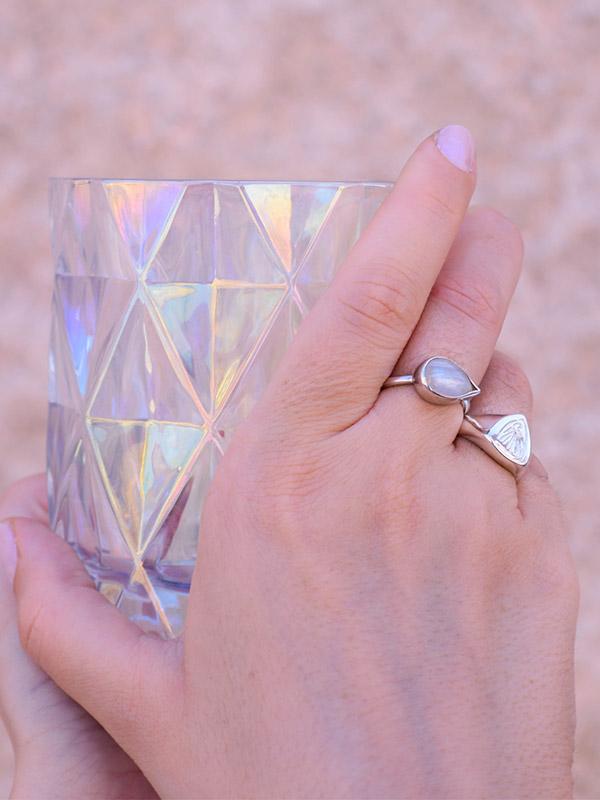 Δαχτυλίδι μισοφέγγαρο
