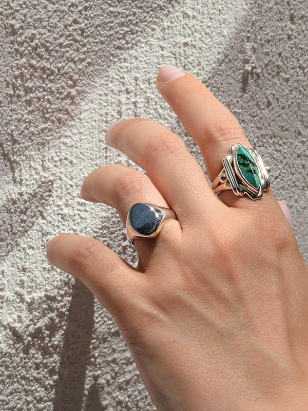 Μίνιμαλ σινιέ δαχτυλίδι