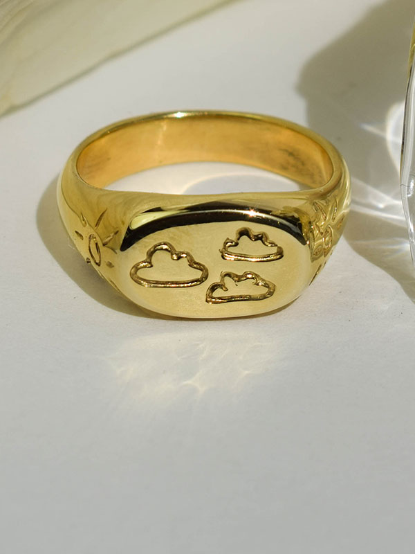 Clouds and suns ring